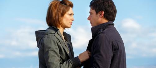 Arianna (Samanta Piccinetti) e Andrea (Davide Devenuto)