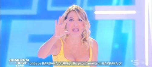 Barbara D'Urso, la conduttrice di Domenica Live