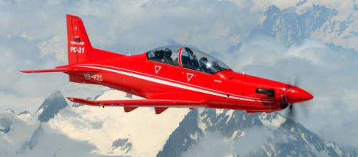 El PC-21 nuevo avión de entrenamiento del Ejército del Aire