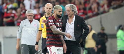 Flamengo: disputa do Mundial adia desfecho das novelas de Gabigol e Jorge Jesus. (Arquivo Blasting News)