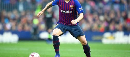Ivan Rakitić centrocampista del Barcellona.