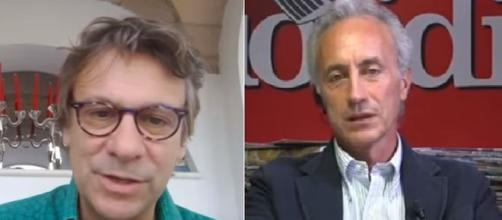 Nicola Porro critico sull'editoriale di Marco Travaglio.