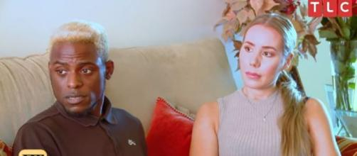 '90 Day Fiancé': Blake's Parents denied Blake & Jasmin live together in their home. Image credit:Entertainment Tonight/Youtube screenshot