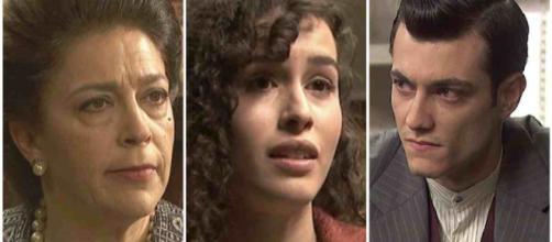 Il Segreto spoiler: Francisca rivela a Prudencio che Lola è coinvolta in un delitto