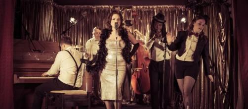 Miss Kiddy and the Cads performing (Image credit: Supplied by Miss Kiddy)