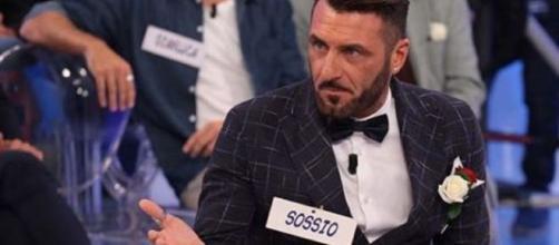 Sossio Aruta, l'ex calciatore è diventato ormai un personaggio televisivo.