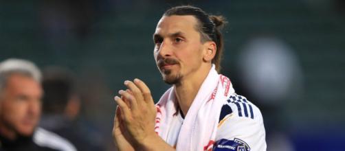 Zlatan Ibrahimovic, attualmente svincolato dopo l'addio ai Los Angeles Galaxy.