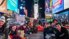 'Big Sleep out': tutti all'addiaccio per raccogliere fondi a favore dei senzatetto