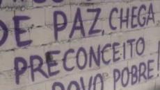 Após uma semana, baile de Paraisópolis conta com religiosos e grafites contra violência