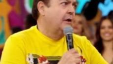 Faustão interrompe Sheron Menezzes ao falar sobre abuso: 'aqui não é o programa da Fátima'