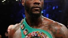 Deontay Wilder sbarca in Italia: il 13 dicembre sarà ospite della Roma Boxing Week