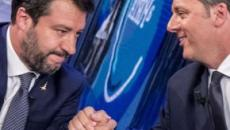 Renzi-Salvini, per il Fatto Quotidiano patto per far cadere il governo
