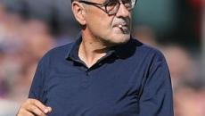 Sarri su Lazio-Juventus: 'Episodi hanno condizionato risultato, su tutti l'espulsione'