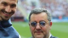 Calciomercato, Raiola: 'Il futuro di Ibrahimovic potrebbe non essere in serie A'