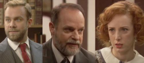 Il Segreto, spoiler 10 dicembre: Irene e Raimundo vogliono smascherare Fernando