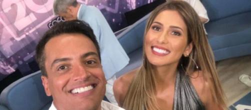 Mesmo com as polêmicas que vivem, Leo Dias rasgou elogios a Lívia Andrade. (Arquivo Blasting News)