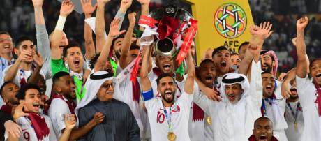 Catar dio al sorpresa al ganar la Copa Asiática. - goal.com