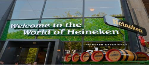Centro de Avaliação da Heineken em Amsterdã. Crédito da foto: arquivo de marketing da empresa