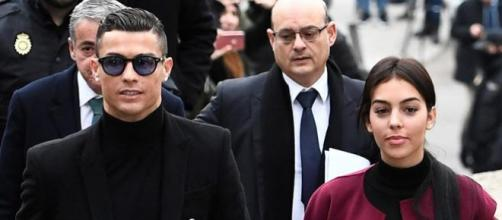 Cristiano Ronaldo e Georgina Rodriguez in lutto