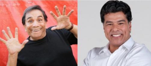 Dedé Santana e Maurício Matar (Foto - Reprodução)