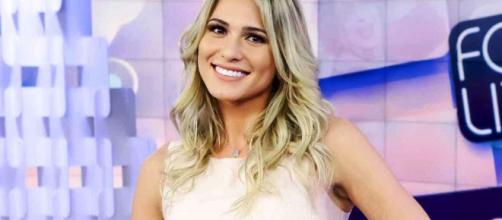 Lívia Andrade: apresentadora do Fofocalizando. (Reprodução)