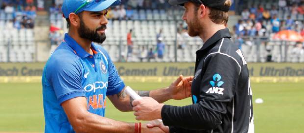 India beat New Zealand in 4th ODI (Image via CricBuzz/Youtube)