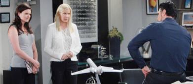 Beautiful anticipazioni americane: Bill cambia obiettivo, Katie e Brooke nel mirino
