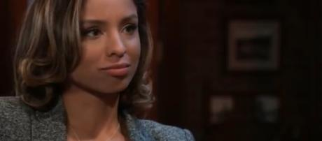 Brytni Sarpy leaves Valerie and Port Charles behind to portray Elena in Genoa CIty. [Image Source: JSMS99-YouTube]