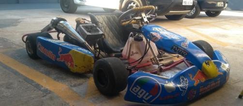 Kart foi apreendido após perseguição pelas ruas de Sarandi. (Foto: Guarda Municipal de Maringá/Divulgação)