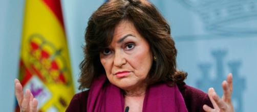 Carmen Calvo rechaza el papel del relator o la mesa de partidos