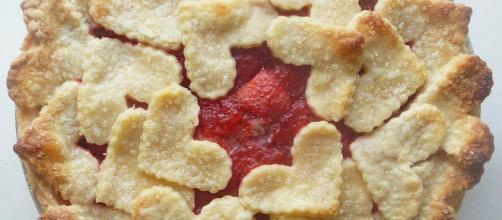 Crostatine integrali alle fragole per San Valentino