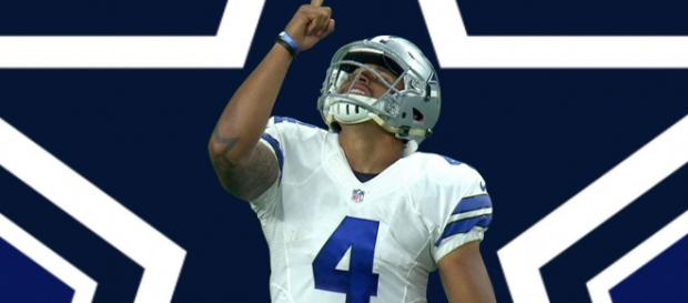 Dak Prescott is hoping to land a new more lucrative deal with the Cowboys. [Image Credit] NFL - YouTube