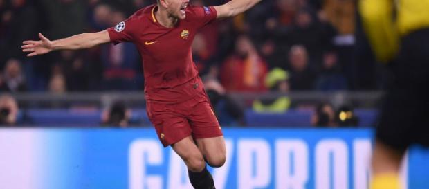 La Roma si affida a Dzeko contro il Porto