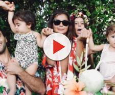 Ivete Sangalo em família. (Foto Reprodução / Instagram)