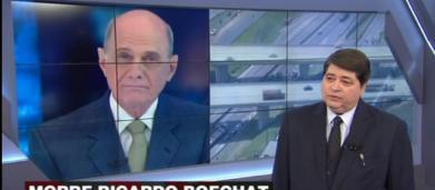 Vídeo mostra momentos após queda do helicóptero de Ricardo Boechat