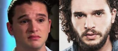 5 famosos sem barba que mostram que ela é como uma maquiagem para o homem