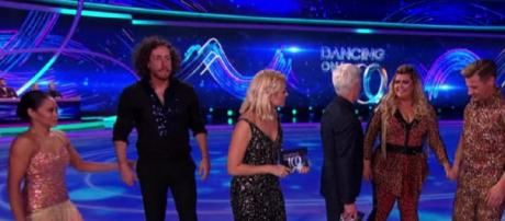 Gemma and Ryan face the Skate Off this week (Image credit: Dancing On Ice/ ITVhub)