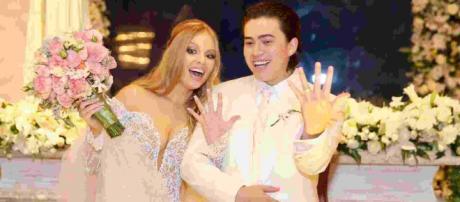 Itens mais caro do casamento de Luísa Sonza e Whindersson Nunes foram as flores (Foto: Manuela Scarpa/Brazil News)