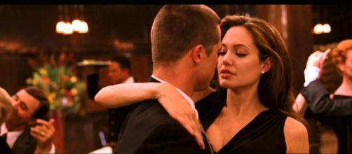 Angelina Jolie e Brad Pitt. (Reprodução/Observatório de Cinema)
