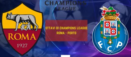 Champions League, andata ottavi di finale: il 12 febbraio Roma-Porto