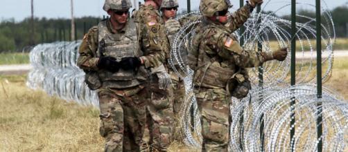 EUA retirará despliegue de soldados en la frontera de California. - juninalminuto.com