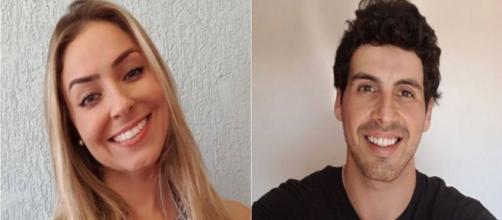 Falas de Maycon e Paula estão sendo investigadas (Foto: Reprodução Instagram)