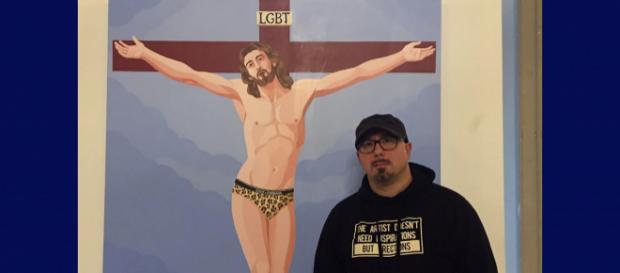 Massa e il Cristo lgtb di Veneziano, una petizione online chiede la chiusura della mostra