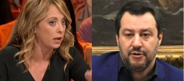 Meloni e Salvini, un giorno potrebbero governare insieme