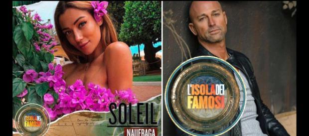 Soleil Sorgé interessata a Stefano Bettarini sull'Isola dei famosi.