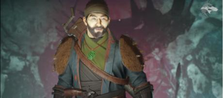 Gambit's mysterious host - The Drifter. - [Image source: xHOUNDISHx/YouTube]
