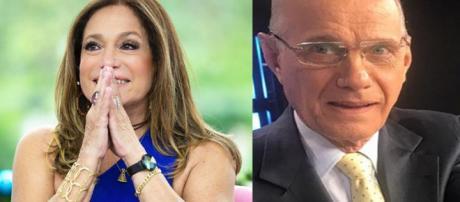 Susana Vieira e Ricardo Boechat (Reprodução - Instagram)