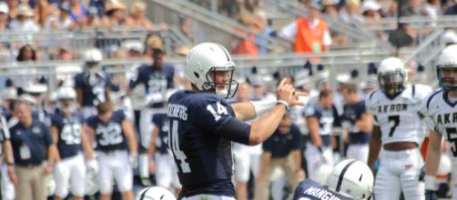 Christian Hackenberg was a prolific quarterback while at Penn State. [Image Source: Flickr | Clint Mickel]