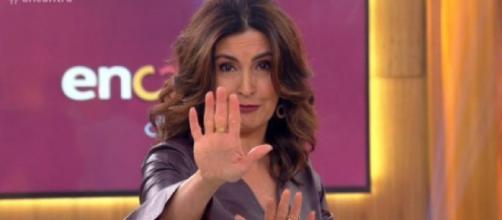 Fatima Bernardes no Encontro (Reprodução Globo)
