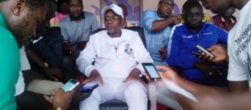 Le :Ministre de la Sante Manouda Malachi (c) Clqudel Tchinda